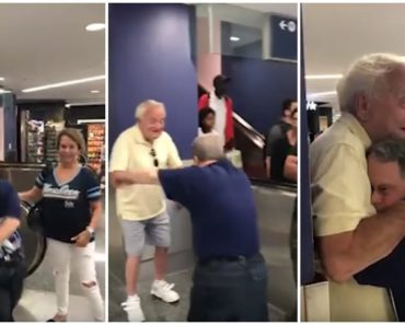 88-Year-Old Dad Reunites with His 53-Year-Old Son with Down Syndrome.