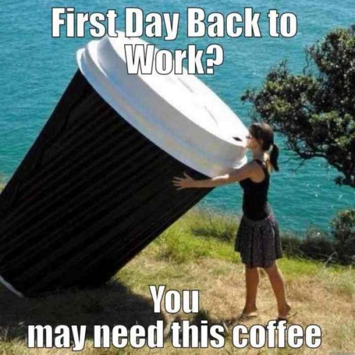 Back To Work Quotes After Vacation: 21 Funny Back To Work Memes Make That First Day Back Less