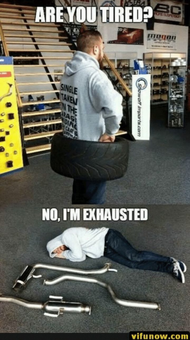 "37 Best Exhausted Memes - ""Are you tired? No, I'm exhausted."""