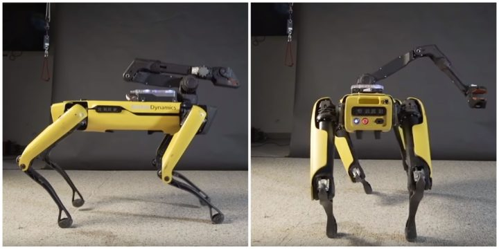 Boston Dynamics' 'Spot' Dances and Twerks to 'Uptown Funk'.