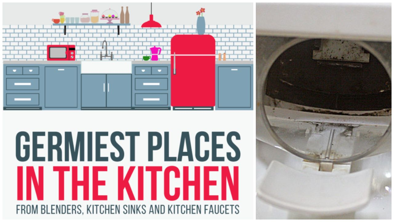 Admirable Top 10 Items And Places In Your Kitchen With The Most Germs Complete Home Design Collection Papxelindsey Bellcom