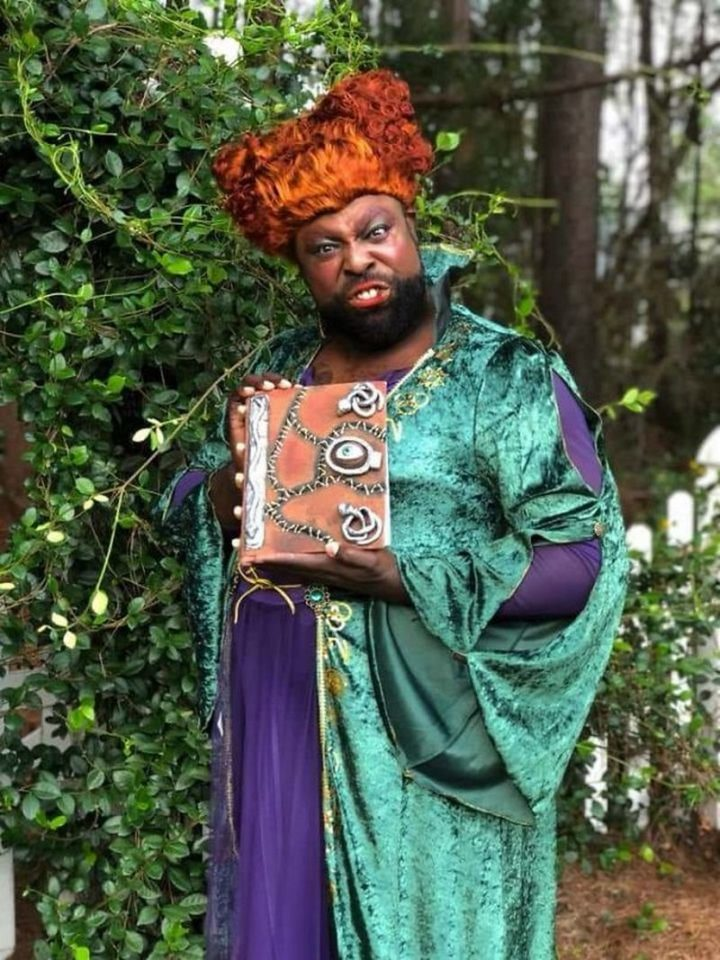 "49 Halloween Costume Ideas - ""My buddy's Winifred Sanderson costume he made for Halloween. Booooook!"""
