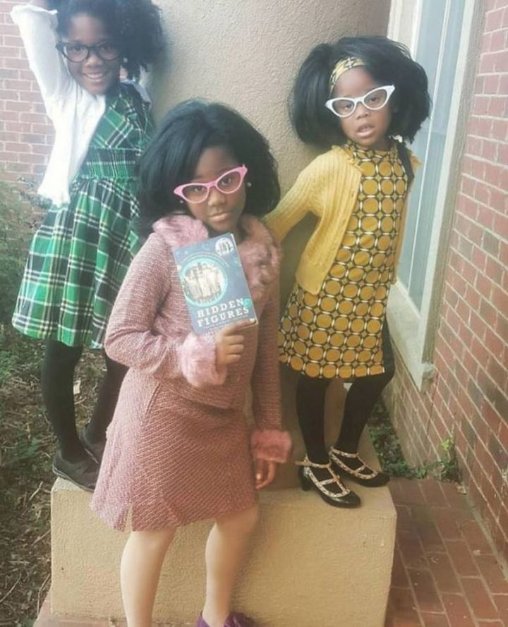 "49 Halloween Costume Ideas - ""Three girls dressed up as the women portrayed in 'Hidden Figures.'"""