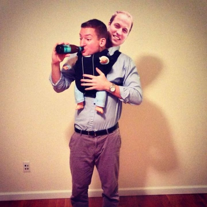 "49 Halloween Costume Ideas - ""I was the royal baby for Halloween."""