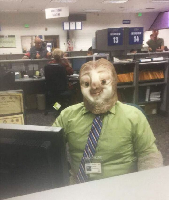 "49 Halloween Costume Ideas - ""So my friend went to the DMV on Halloween..."""