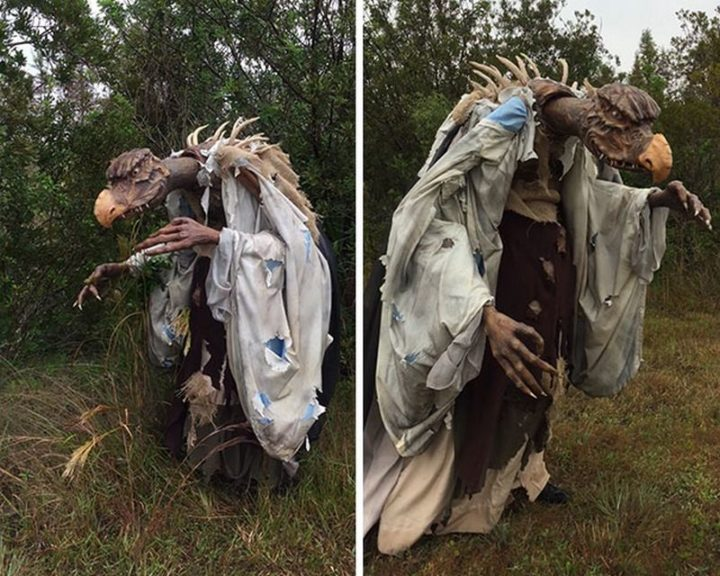 "49 Halloween Costume Ideas - ""Skeksis costume, Dark Crystal."""