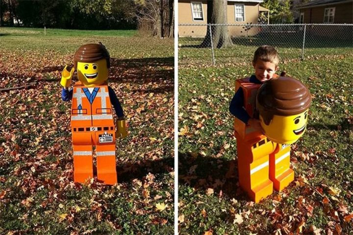 "49 Halloween Costume Ideas - ""Awesome Lego costume."""