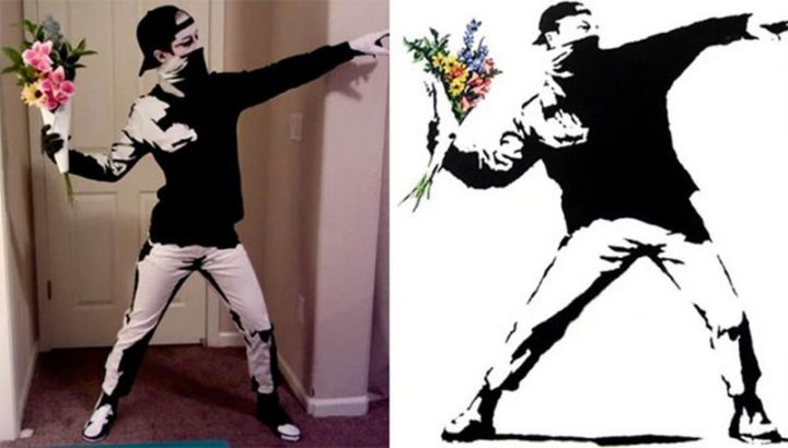 "49 Halloween Costume Ideas - ""Halloween Banksy."""