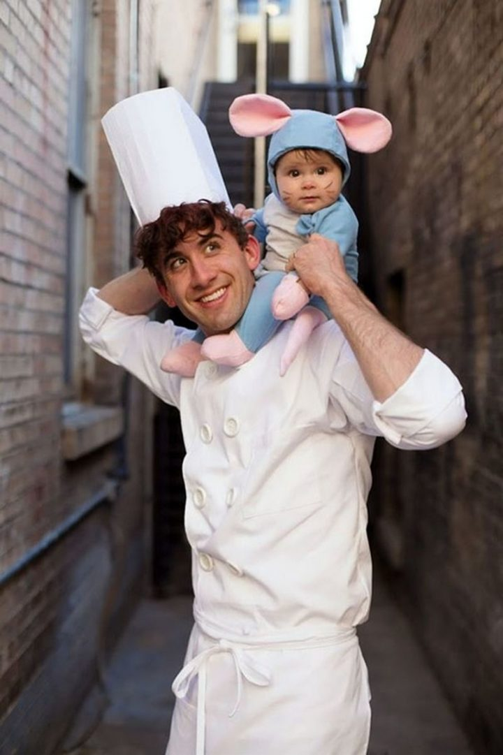 "49 Halloween Costume Ideas - ""Cute Ratatouille Halloween costume."""