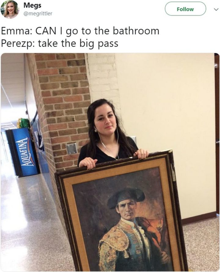 53 Funny Hall Passes - Fine art.