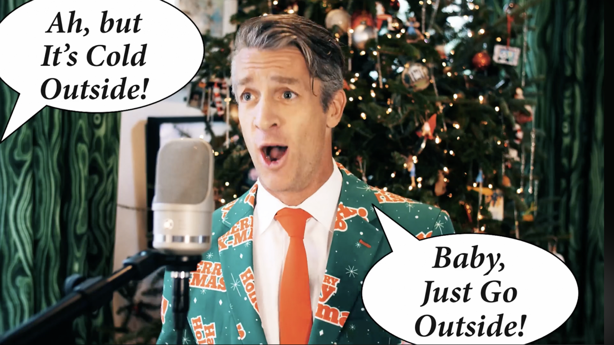 'Baby It's Cold Outside' Parody Hit by the Holderness Family