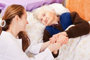 Caring for seniors and housework.