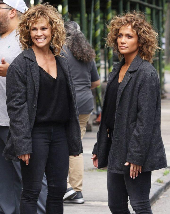 19 Famous Actors and Their Stunt Doubles - Jennifer Lopez