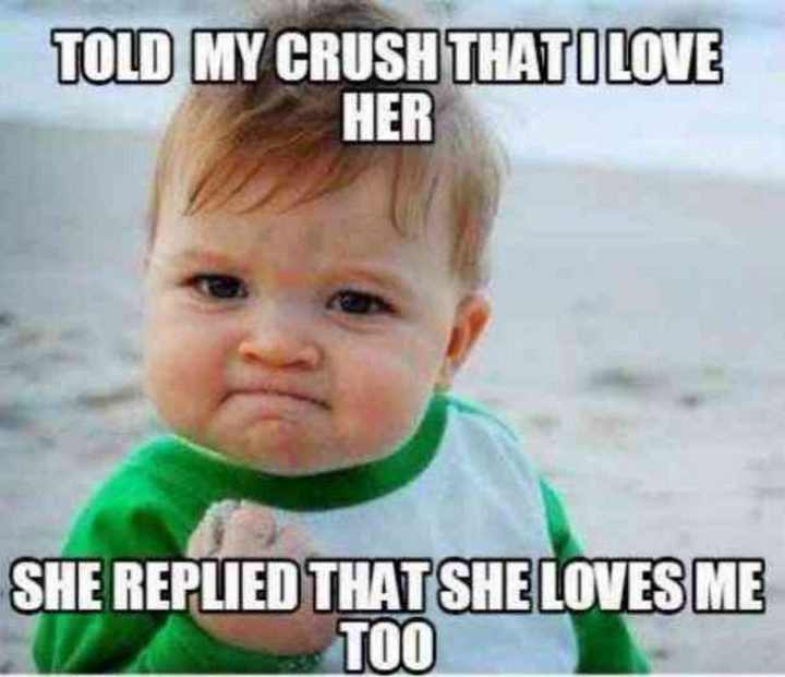 "101 I Love You Memes - ""Told my crush that I love her. She replied that she loves me too."""