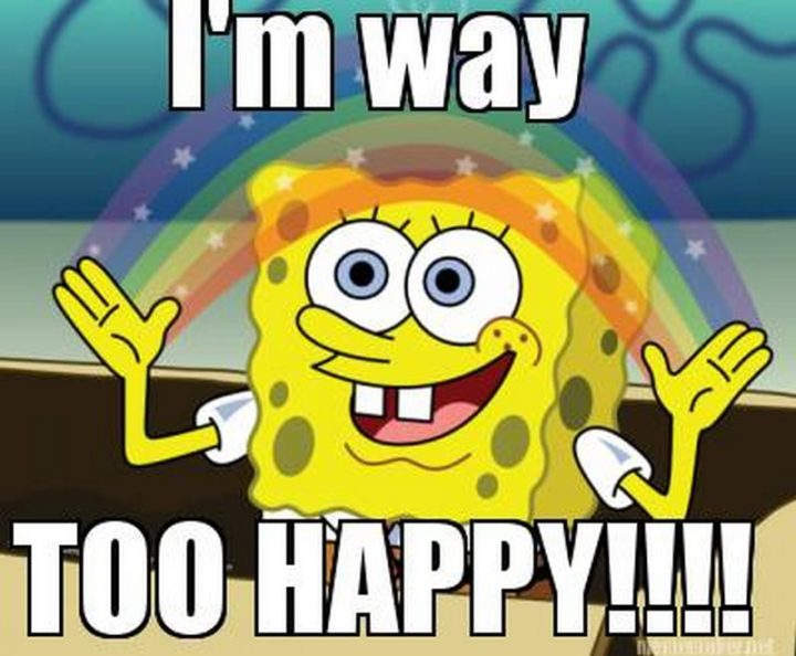 "85 Happy Memes - ""I'm way too happy!!!!"""