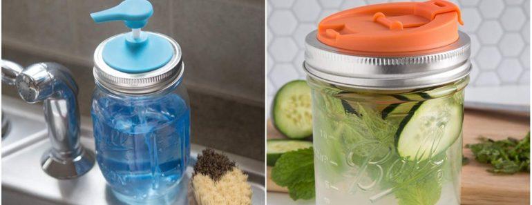 9 Amazing Mason Jar Accessories You'll Flip Over.