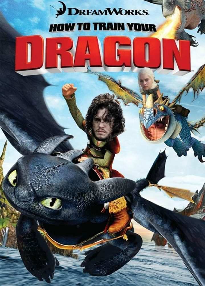 "91 Game of Thrones Memes - ""DreamWorks' How to Train Your Dragon."""