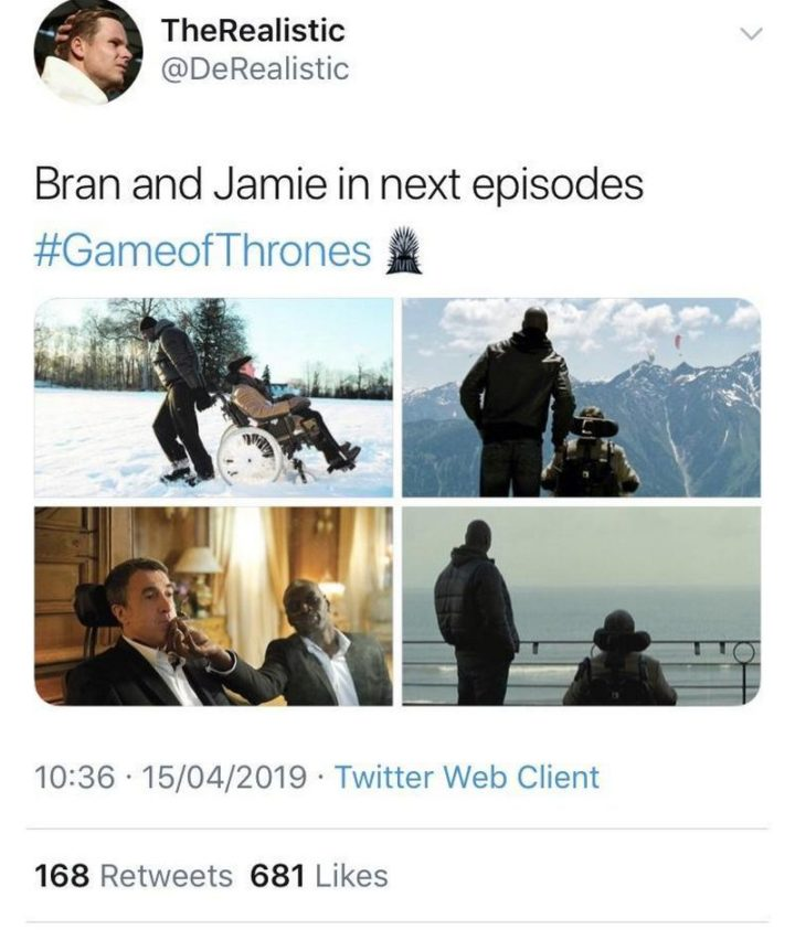 "91 Game of Thrones Memes - ""Bran and Jamie in the next episodes of Game of Thrones."""