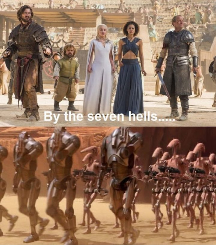 "91 Game of Thrones Memes - ""By the seven hells..."""