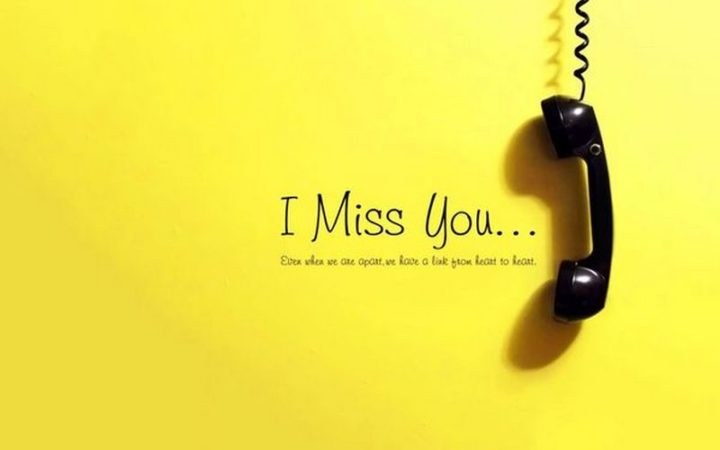 "101 I miss you memes - ""I miss you...Even when we are apart, we have a link from heart to heart."""