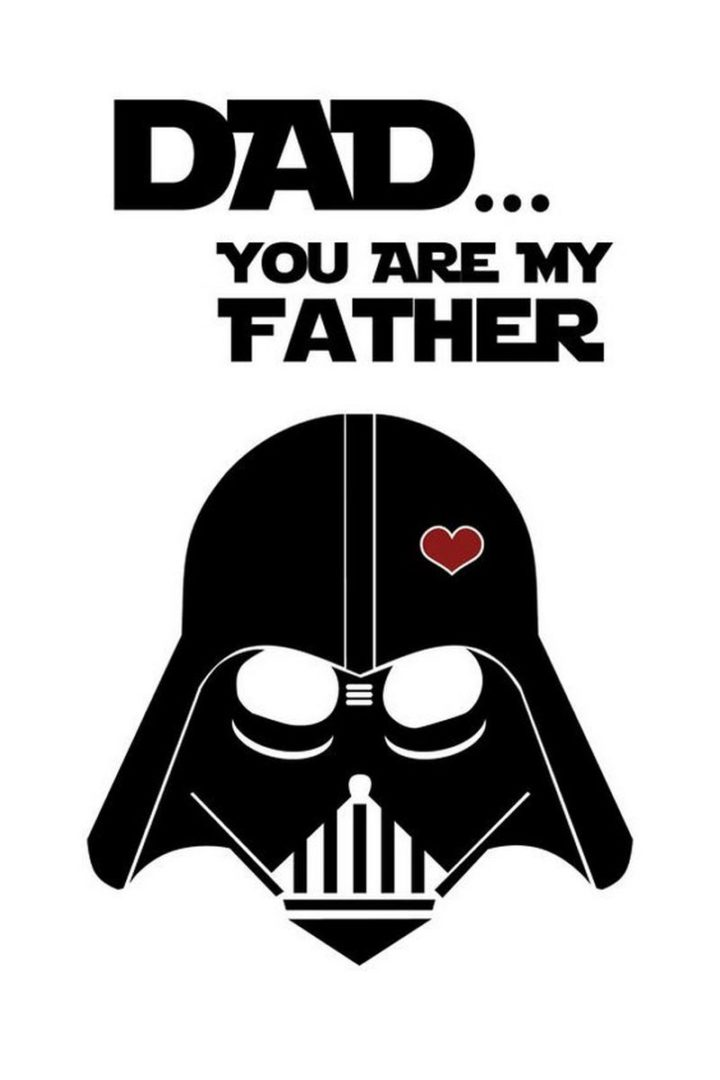 "71 Funny Dad Memes - ""Dad...You are my father."""