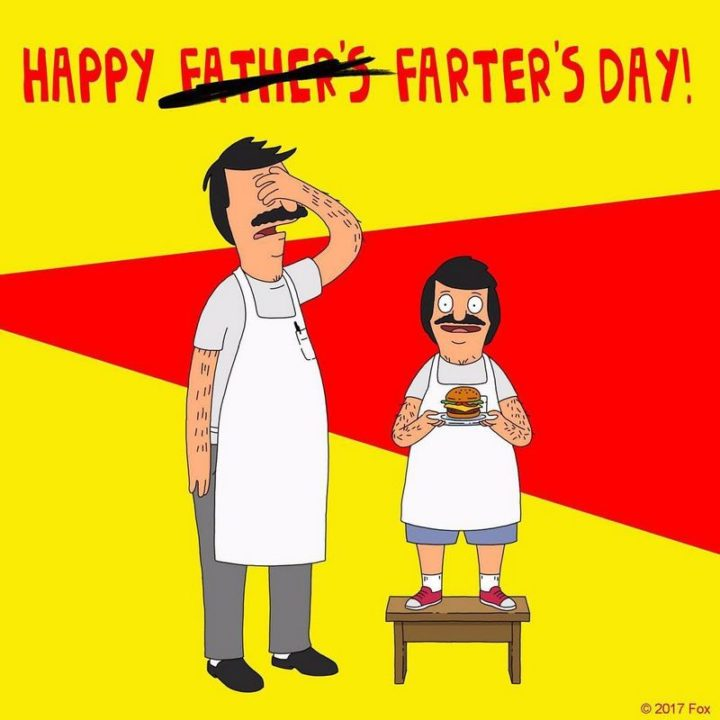 """71 Funny Dad Memes - """"Happy Father's Farter's Day."""""""