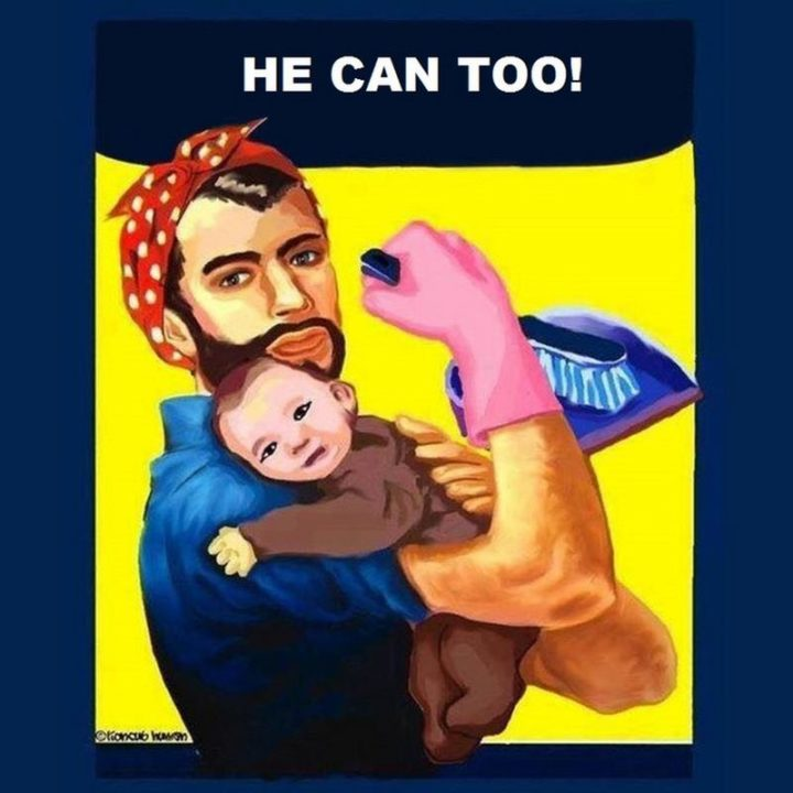 "71 Funny Dad Memes - ""He can too!"""