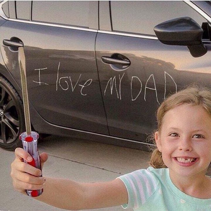 "71 Funny Dad Memes - ""I love my dad."""