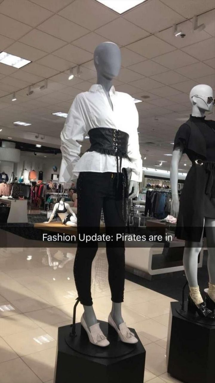 """101 Smile Memes - """"Fashion update: Pirates are in."""""""