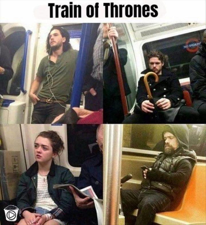 "101 Smile Memes - ""Train of Thrones."""