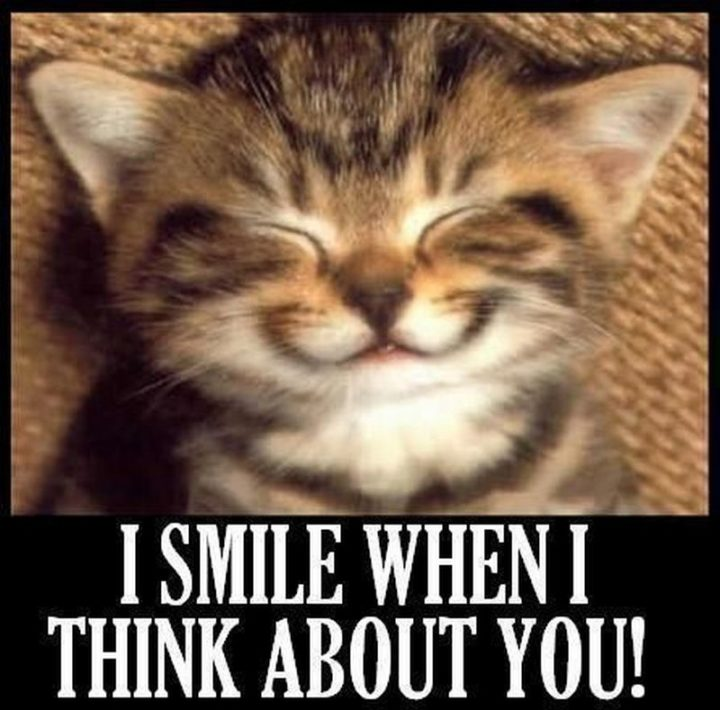 """101 Smile Memes - """"I smile when I think about you!"""""""