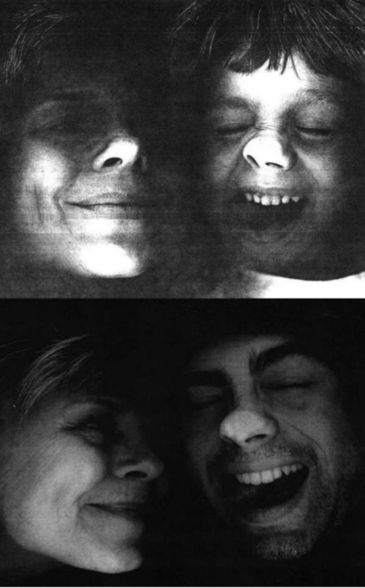 "35 Then and now pictures - ""My son and I planted our faces on a copier, then and now pictures."""