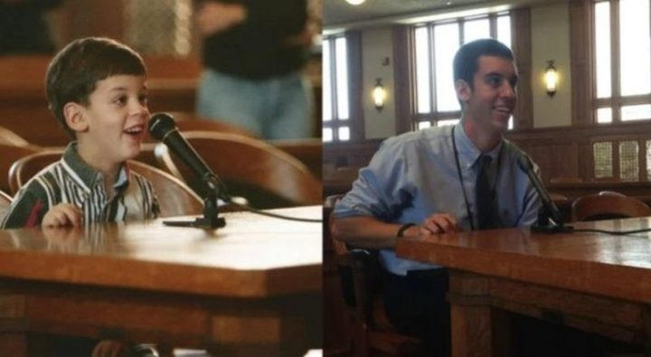 "35 Then and now pictures - ""I came to this courtroom with my class in Kindergarten. Today, 14 years later, I finished my internship with the Judge in the same courtroom."""