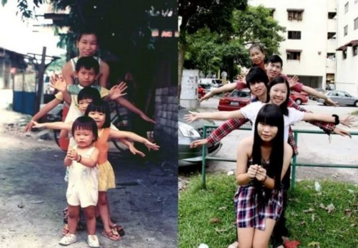 "35 Then and now pictures - ""My family, 20 years apart!"""
