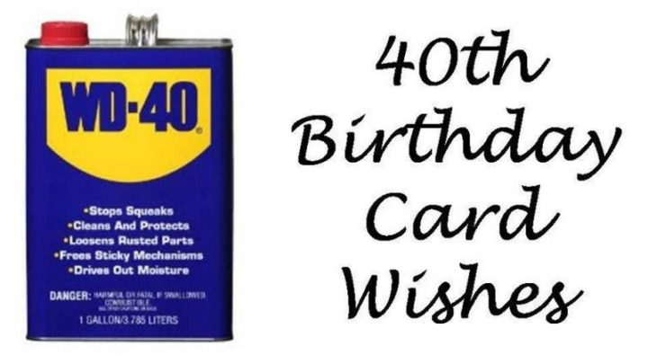 "101 Happy 40th Birthday Memes - ""40th birthday card wishes."""