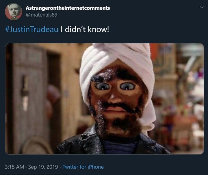 """51 Best Justin Trudeau Memes - """"Justin Trudeau: I didn't know!"""""""