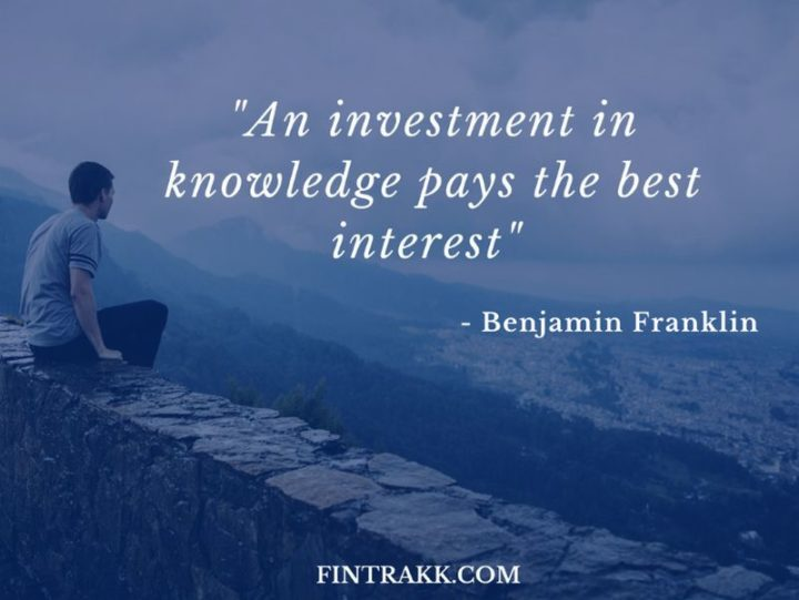"47 Finance Quotes - ""An investment in knowledge pays the best interest."" - Benjamin Franklin"