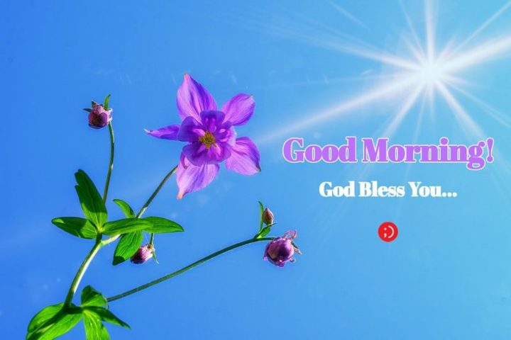 "71 Good Morning Images - ""Good morning! God bless you..."""