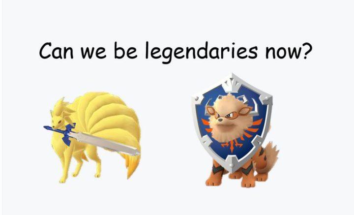 """71 Pokémon memes - """"Can we be legendaries now?"""