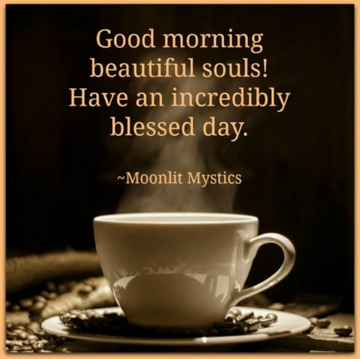 "101 Funny Good Morning Memes - ""Good morning beautiful souls! Have an incredibly blessed day."""