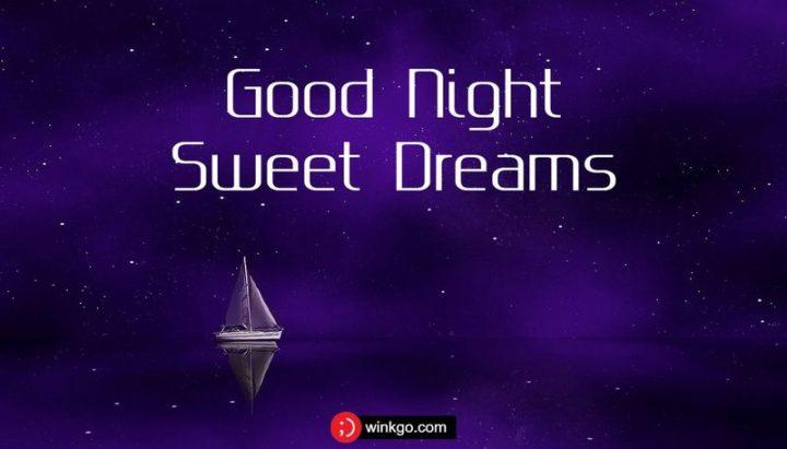"""""""Sweet dreams."""""""
