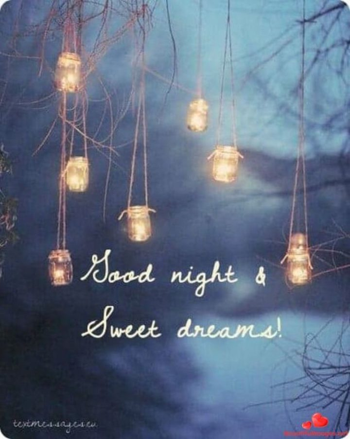 """""""Sweet dreams!"""""""