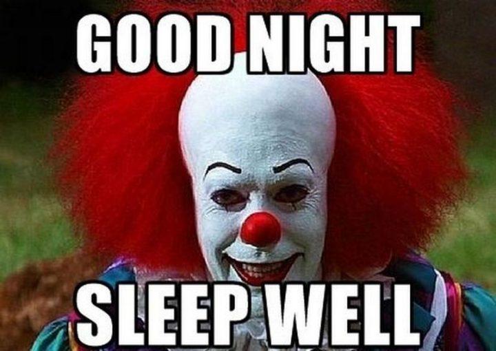 "101 Good Night Memes - ""Good night. Sleep well."""