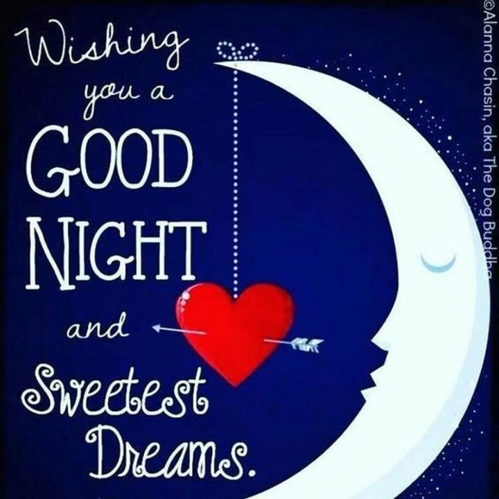 "101 Good Night Memes - ""Wishing you a good night and sweetest dreams."""
