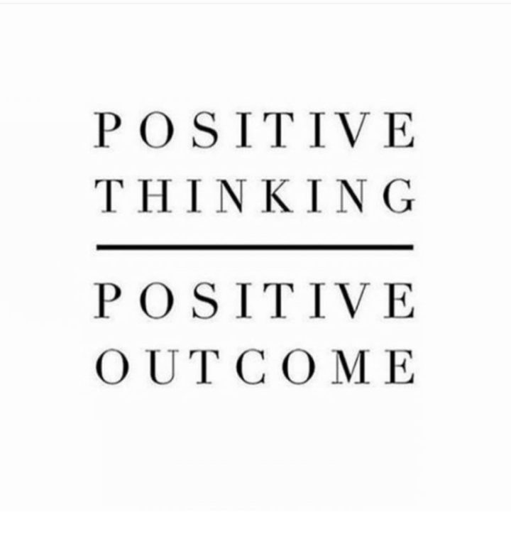 "59 Positive Memes - ""Positive thinking = Positive outcome."""