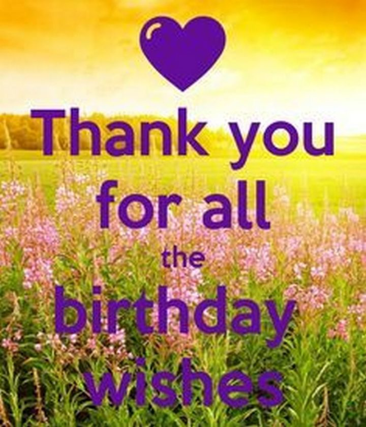 """101 Thank You Memes - """"Thank you for all the birthday wishes."""""""