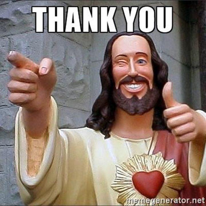 "101 Thank You Memes - ""Thank you."""