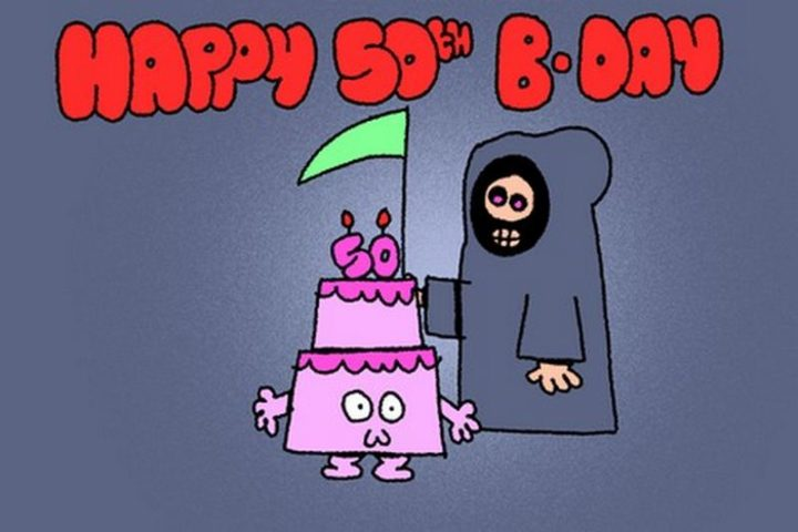 "101 Happy 50th Birthday Memes - ""Happy 50th B-day."""