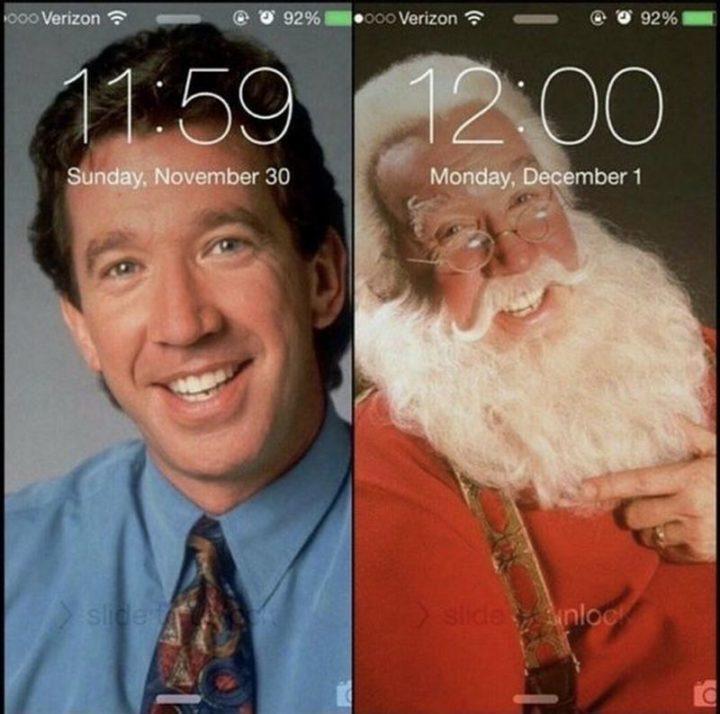 """87 Christmas Memes - """"11:59 November 30 vs. 12:00 December 1."""""""