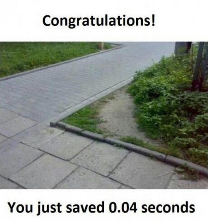 "71 Congratulations Memes - ""Congratulations! You just saved 0.04 seconds."""